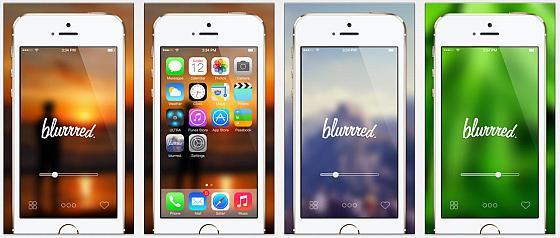 blurred. Screenshots