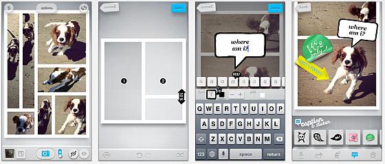 Grid Lens - mach aus Deinen Bildern auf iPhone und iPad Comics