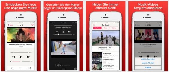 Erweiterte Funktionen für die YouTube-Nutzung machen Sieh & Hör zu interessant.