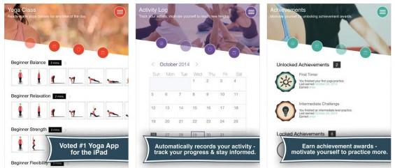 Yoga Break überzeugt mit einem starken Inhalt und einem guten Design.