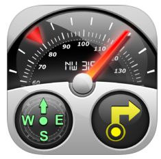 Speedometer GPS Tracker Icon