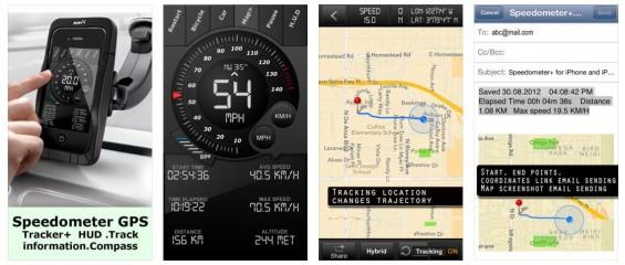 Mit Speedometer hast Du eine Zusatzanzeige fürs Auto oder einen Fahrradcomputer, der Dir einige Daten anzeigt, die interessant sein können.
