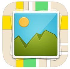 Foto Karte Icon