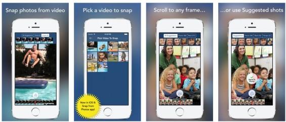Mit SnapStill kann man ganz einfach Fotos aus Videos herausschneiden. Das Programm macht sogar Vorschläge, welche Bilder man nehmen sollte. Nützlich, einfach in der Bedienung und frei von Werbung oder In-App-Käufen.