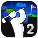 Super Stickman Golf 2 als App des Abends kurzzeitig kostenlos