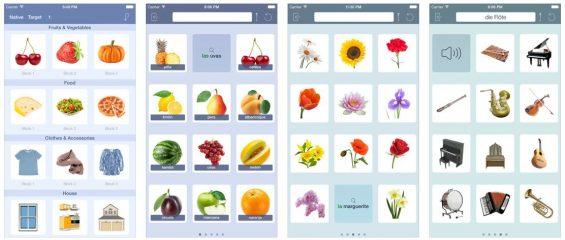 Mit T&L Polyglott kann man in sechs Sprachen einen Grundwortschatz lernen.