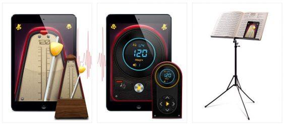 Die App Echte Metronom bietet ein digitales und ein klassisches Metronom als Taktgeber.