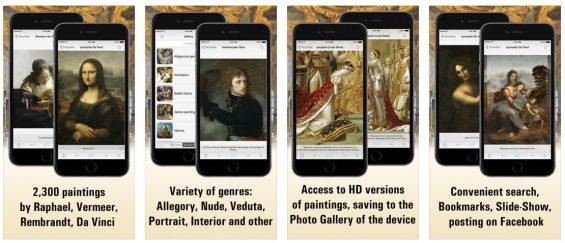 In Louvre HD findest Du die die 2.300 bekanntesten Gemälde aus der Sammlung des Louvre. Durch Komfortfunktionen der App kannst Du gut durch die Bilder navigieren und Deine Lieblingsgemälde sogar mit anderen teilen.
